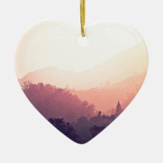 Rishikesh Ceramic Heart Decoration