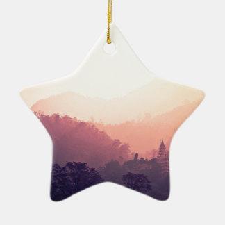 Rishikesh Ceramic Star Decoration