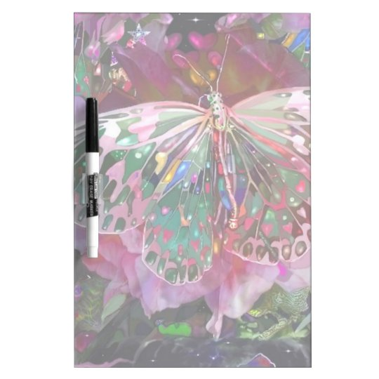 Rising Dawn Butterfly Dry Erase Board