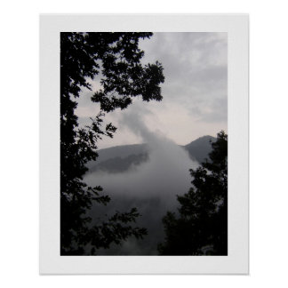 Rising Fog Poster