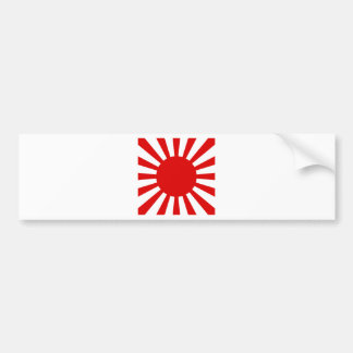 Rising Sun Bumper Sticker