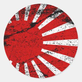 Rising Sun Classic Round Sticker