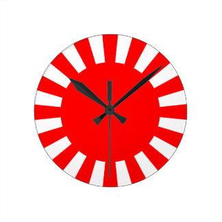 Rising Sun Clock