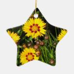 Rising Sun Coreopis Ornament