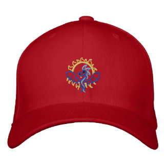 Rising sun Dragon Embroidered Hat