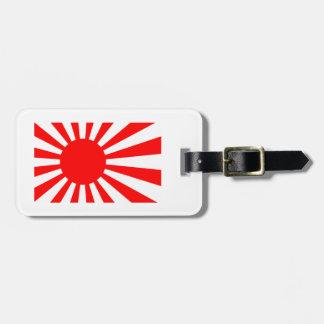 Rising Sun Flag of Japan Luggage Tag