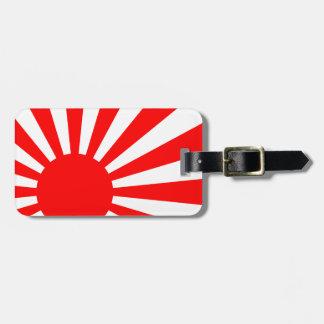 Rising Sun Luggage Tag