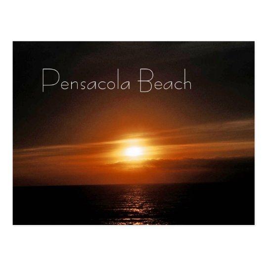 Rising Sun -- Pensacola Beach Postcard