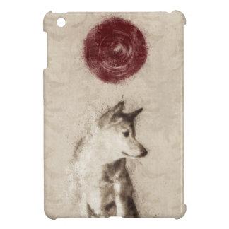 Rising Sun Shiba Inu iPad Mini Cover
