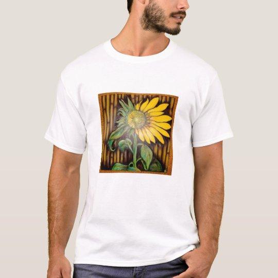 Rising sunflower organic T T-Shirt