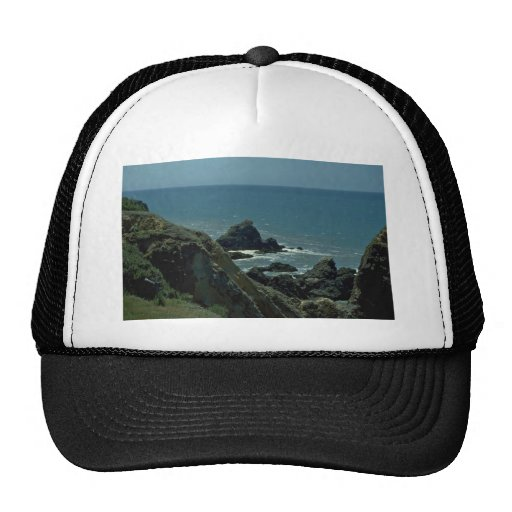 Rising Up From The Sea Level Mesh Hat