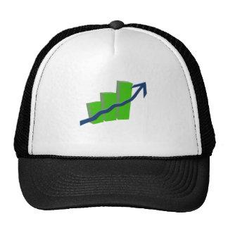 Risk On Stock Market Mesh Hat