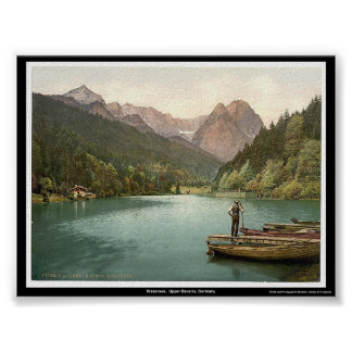 Rissersee Upper Bavaria Germany Print