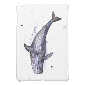 Risso Dolphin Illustration iPad Mini Case
