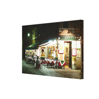 Ristorante Stretched Canvas Print