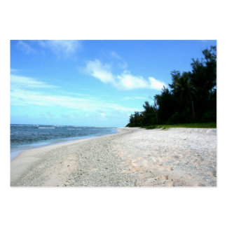 Ritidian Beach - Island of Guam Pack Of Chubby Business Cards