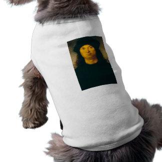 ritratto di uomo 1 by Raffaello Sanzio da Urbino Sleeveless Dog Shirt