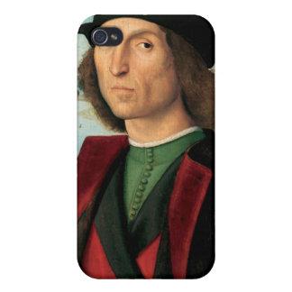 ritro di uomo by Raffaello Sanzio da Urbino Cover For iPhone 4