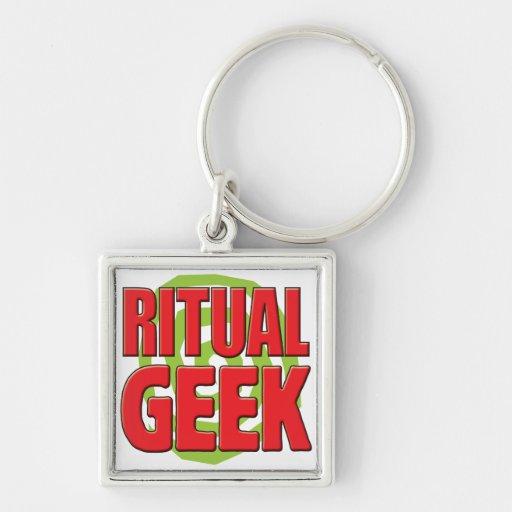 Ritual Geek Keychain