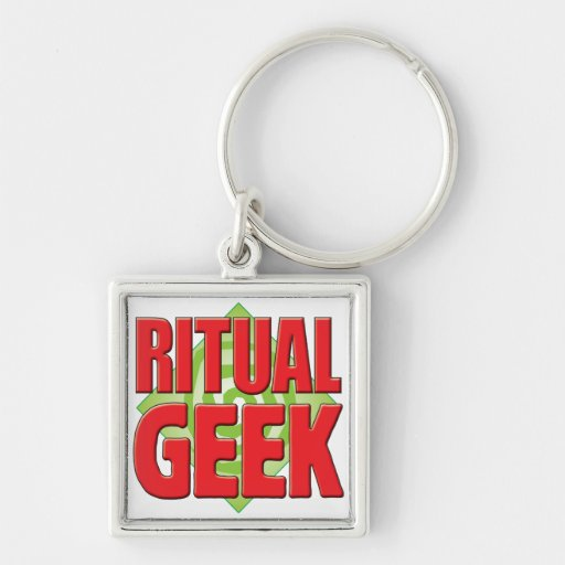 Ritual Geek v2 Key Chain