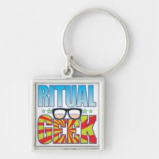 Ritual Geek v4 Key Chain