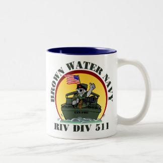 Riv Div 511 Two-Tone Mug