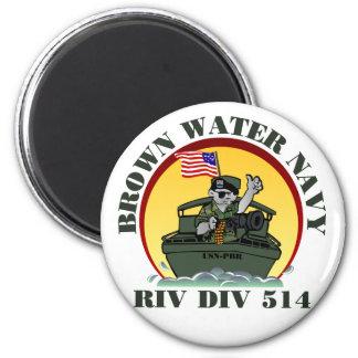 Riv Div 514 6 Cm Round Magnet