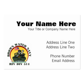 Riv Div 514 Pack Of Chubby Business Cards