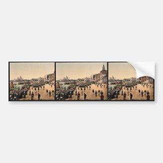 Riva degli Schiavoni, Venice, Italy classic Photoc Bumper Stickers