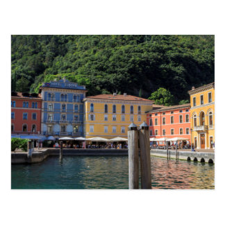 Riva port postcard