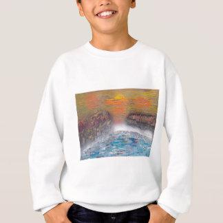 River above the falls sweatshirt