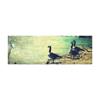 River Afternoon Canvas Prints
