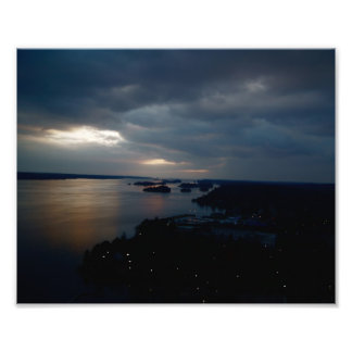 River And Islands Photographic Print