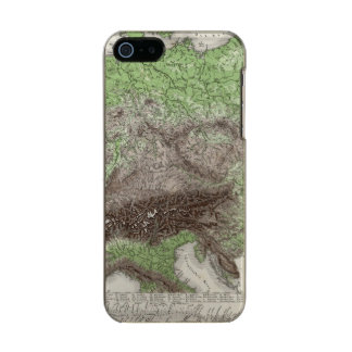 River and Mountain Map of Germany Incipio Feather® Shine iPhone 5 Case