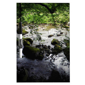 River and rocks Peace Photo Dry Erase Board