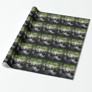 River and rocks Peace Photo Wrapping Paper