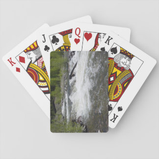 River and Trees playing cards
