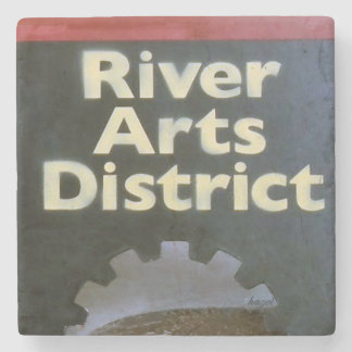River Arts District, Asheville North Carolina, Stone Coaster