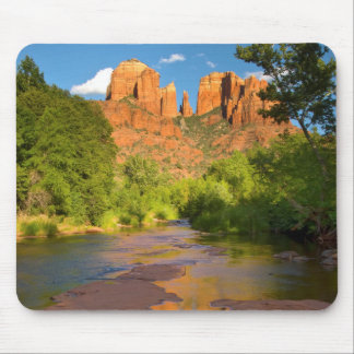 River at Red Rock Crossing, Arizona Mouse Mat