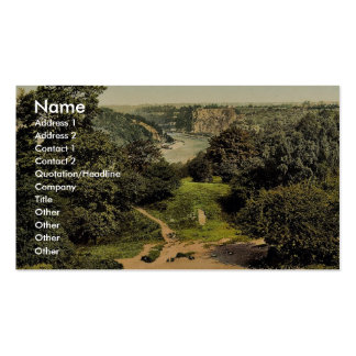 River Avon from Clifton Downs, Bristol, England cl Business Card Templates