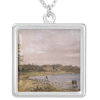 River Bank at Emilliekilde Silver Plated Necklace