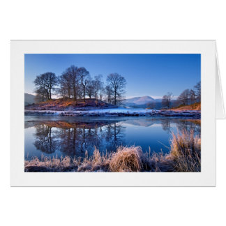 River Brathay Lake District Xmas Card