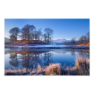 River Brathay reflections - The Lake District Art Photo