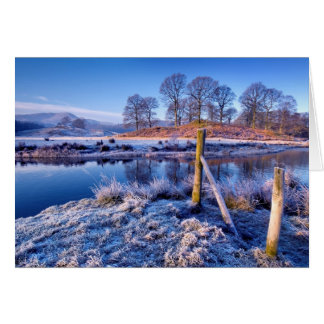River Brathay Reflections, The Lake District Card