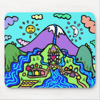 River Chalet Mouse Pad
