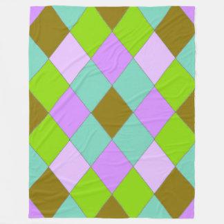 River-Cove-Diamonds-Walk-L-II- Fleece Blanket