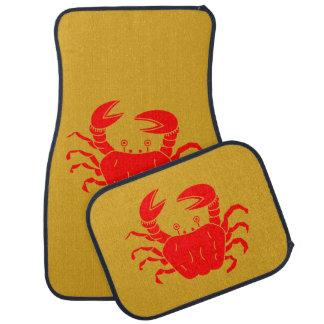 River Crab Car Mat