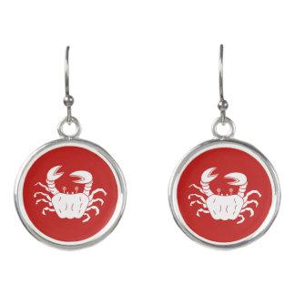 River Crab Earrings