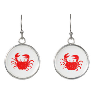 River Crab Earrings