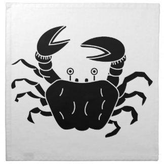 River Crab Printed Napkin